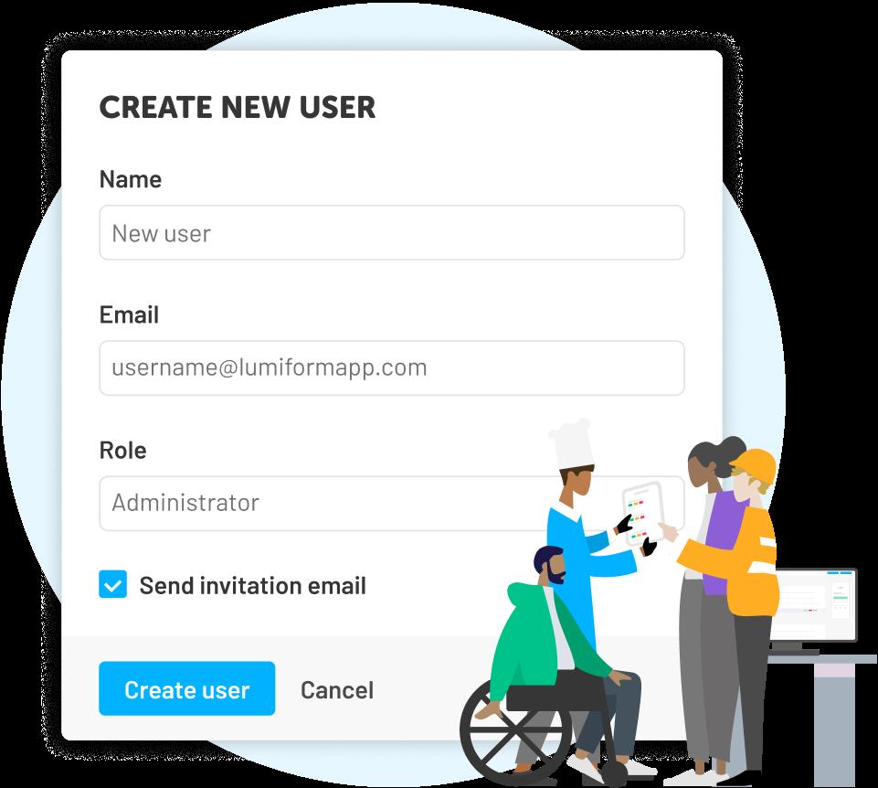 Créez des utilisateurs