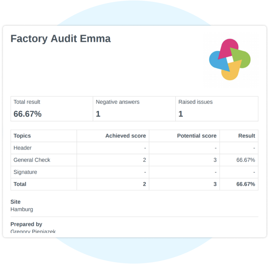 Create Secure Reports Automatically