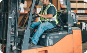 Safety assessment of forklift driver